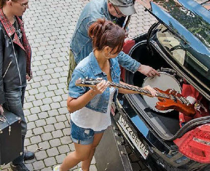 Chery багажник