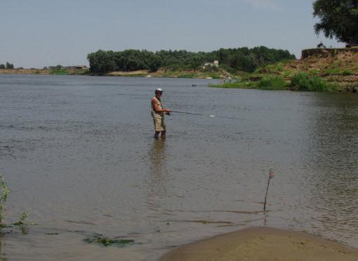 рыбалка на Ахтубе