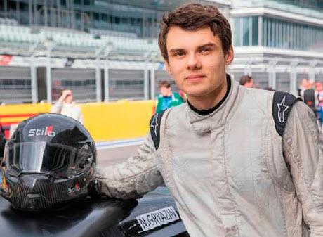 Николай Грязин, чемпион Северной Европы по ралли, пилот серии Mitjet 2 L