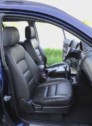 тест-драйв great wall hover н5 передние сидения