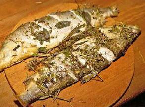 Свежайшая рыба из Катуни