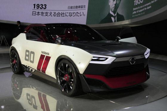 Nissan представил электрокар IDS Concept