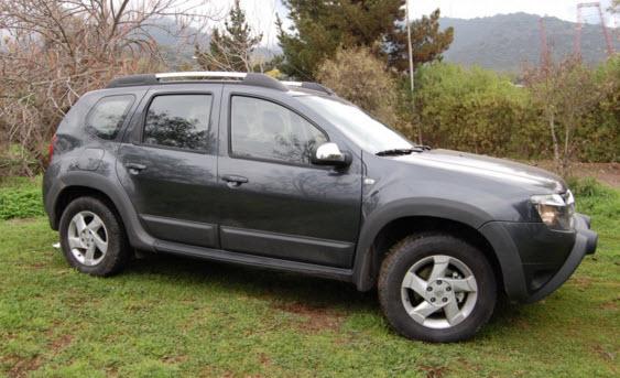 рестайлинговый Renault Duster