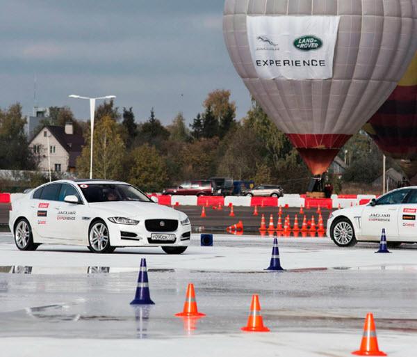 В Подмосковье открылся полигон Jaguar Land Rover