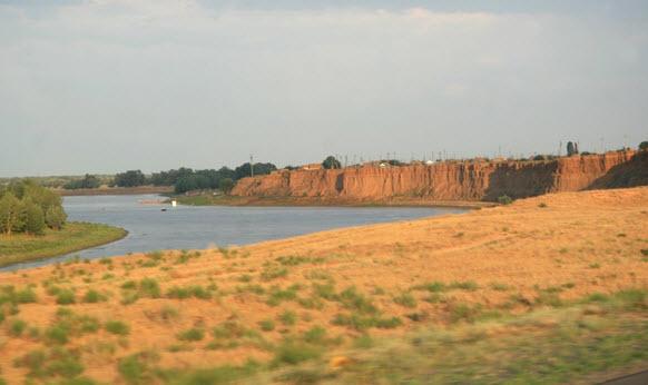приближаемся к Калмыкии
