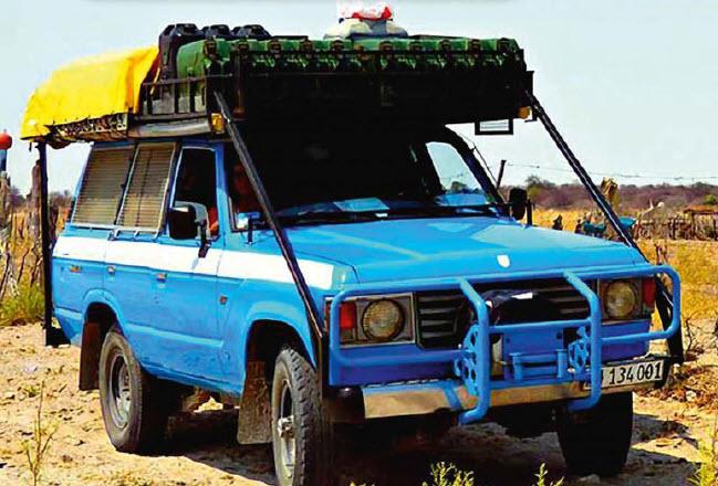 путешествие по Камеруну на VW Beetle