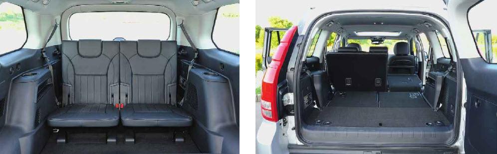 Компромисс. В третьем ряду даже у полноразмерных SUV тесновато, но по ширине для двоих места в Haval Н9 хватает. Почему так?! Пятая дверь открывается по-японски вправо. У нас надо бы наоборот.