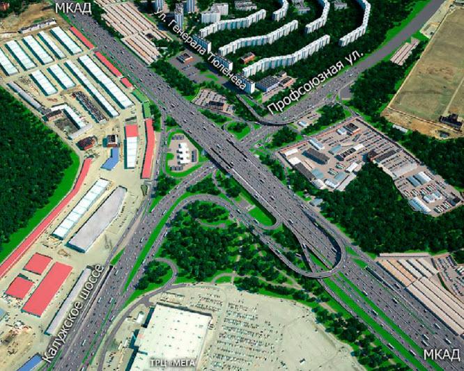 дорожное строительство в москве идет небывалыми темпами