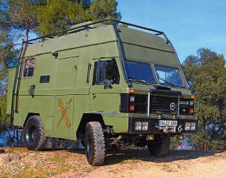 И не узнать. В 1981 году Santana приступила к производству гражданской версии английского Land Rover 110FC под названием «2000» с сильно измененным дизайном