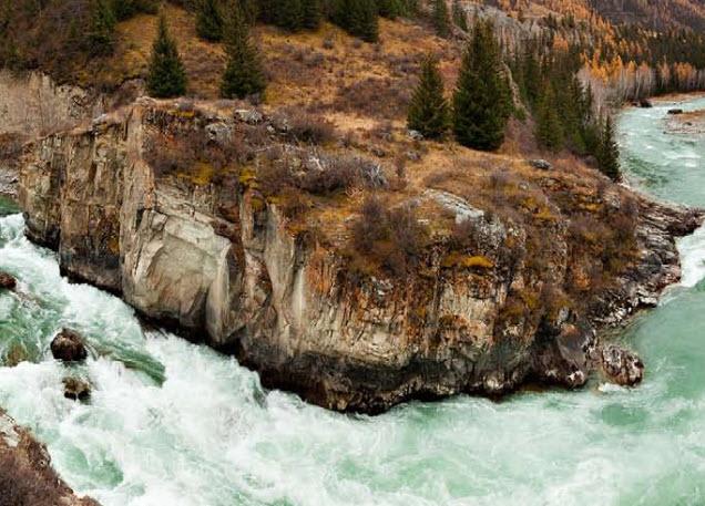 река горная