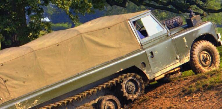 Помесь внедорожника с танком - Land Rover КЕНТАВР
