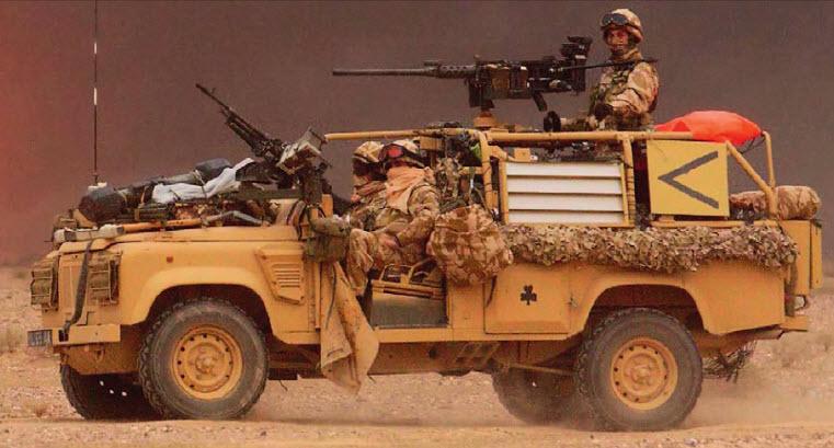 Волк пустыни - Land Rover Wolf