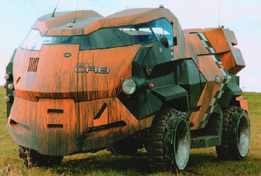 Land Rover очень отдаленного будущего. В 1995-м таким видели английский внедорожник 2080 года!
