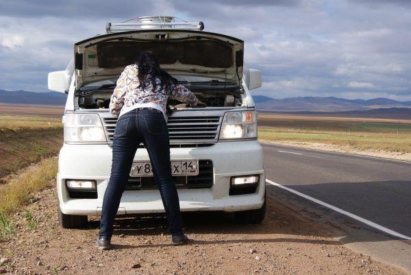 Поломка на дороге