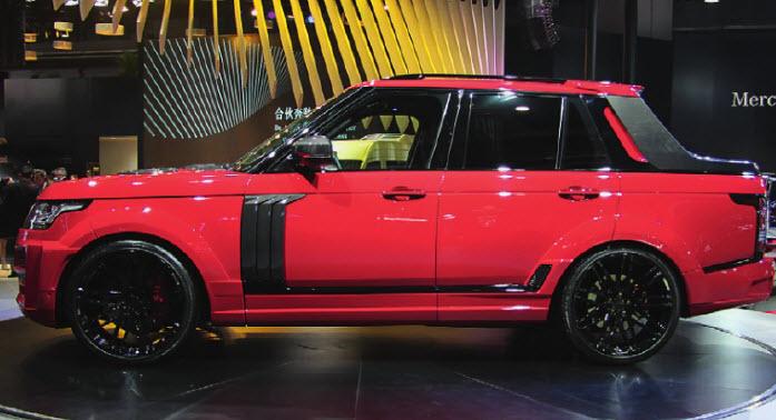 Смелые эксперименты над профилем Range Rover иногда заканчиваются удачно. Вот уж чья жизнь точно не будет наполнена грузоперевозками!
