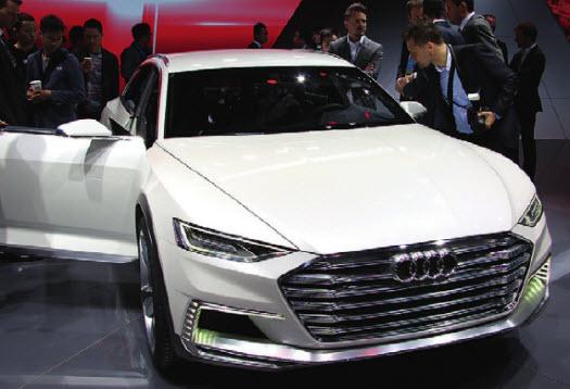Вседорожный Audi. Масса полированного алюминия, строгие линии, приземистый профиль. Не иначе как заявка на новый Allroad.